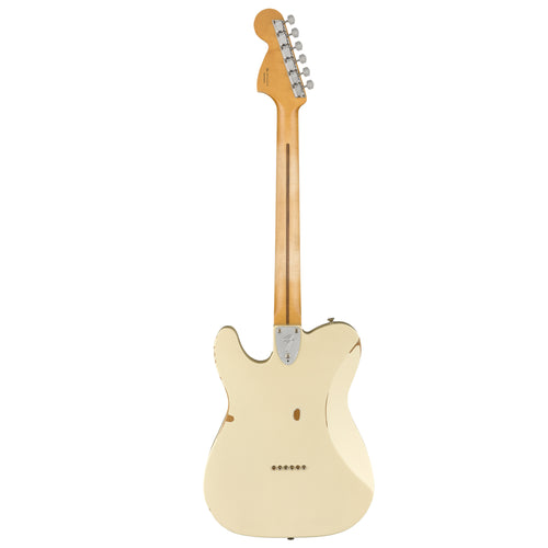 Fender Vintera Road Worn '70s Telecaster® Deluxe, Maple Fingerboard, Olympic White