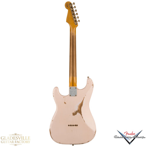 Fender Custom Shop Troposphere™ Strat® Hardtail Heavy Relic®, Maple Fingerboard, Super Faded Aged Shell Pink