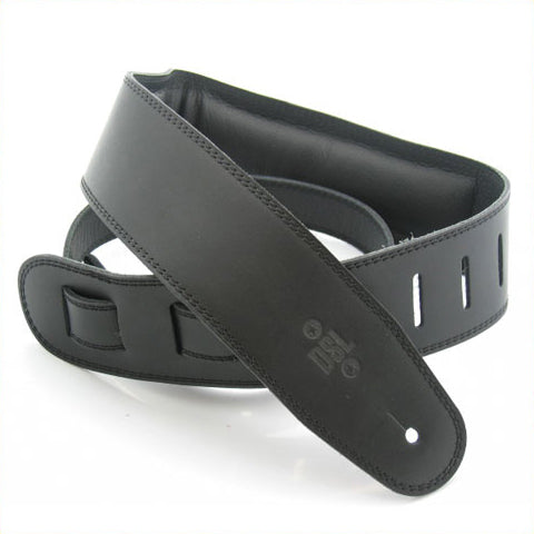 DSL 2.5'' Padded Suede Black/Brown Strap