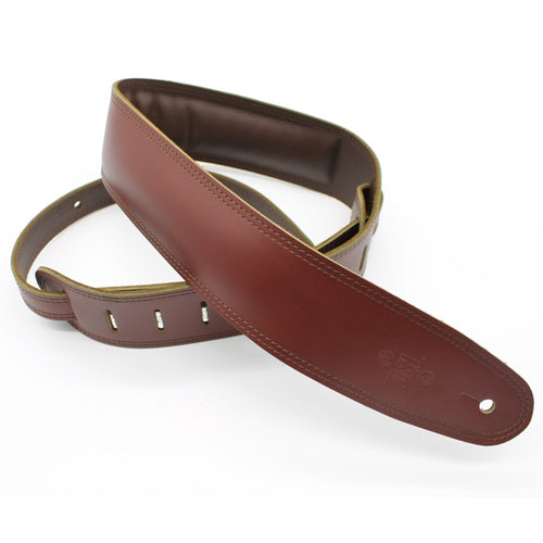 DSL 2.5'' Padded Suede Maroon/Brown Strap