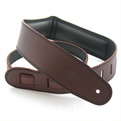 DSL 2.5'' Padded Garment Saddle Brown/Black Strap