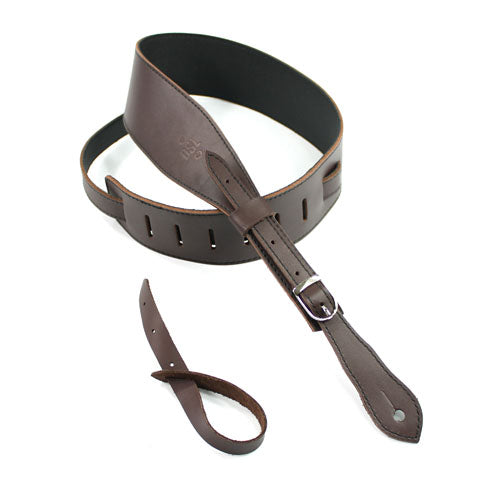 DSL 2.5'' Buckle Slender Saddle Brown/Black Strap