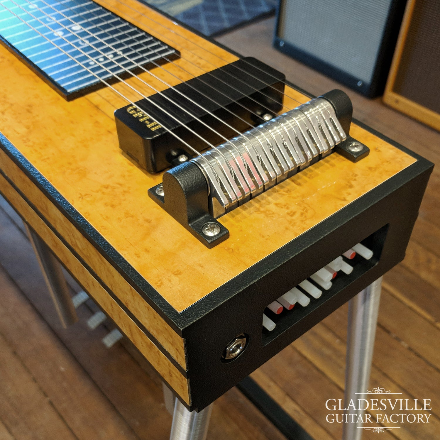 GFI S10 SM Maple 4-Knee Lever Pedal Steel Guitar