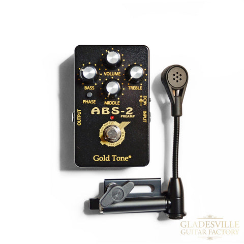 K&K Twin Spot Instrument Pickup External Jack