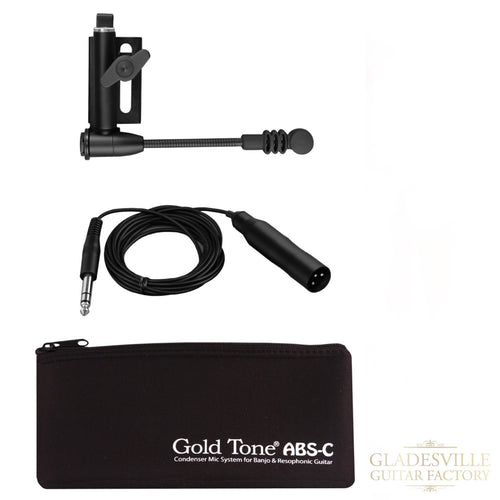 Gold Tone ABSC Banjo / Resonator Condenser Microphone System