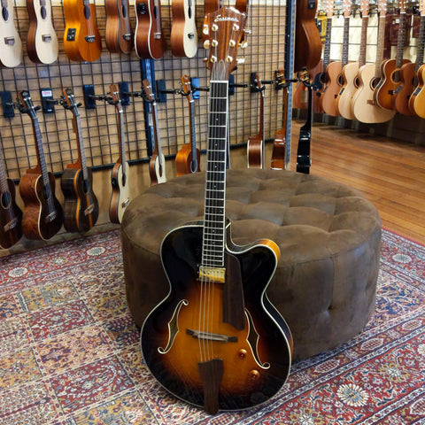 Eastman AR405E-SB Electric Hollowbody Archtop-Sunburst