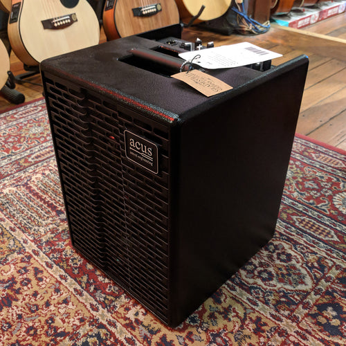 Acus OneForStreet Black 80W RMS Battery Powered Acoustic Guitar Amplifier