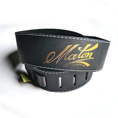 Maton Leather Acoustic Strap Standard Blk