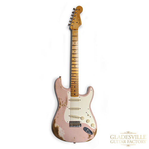 Fender Custom Shop '56 Strat Heavy Relic Shell Pink Maple Neck