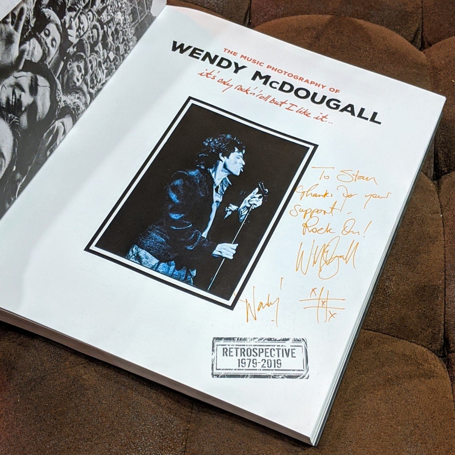 The Music Photography Of Wendy McDougall Book