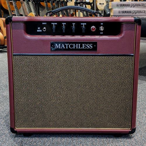 Matchless SC-Mini 6W Combo 112 Burgundy/Gold