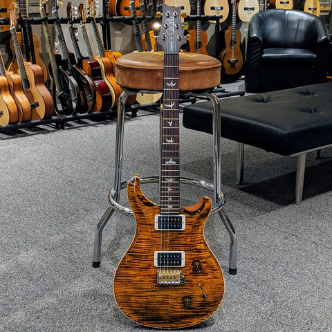 PRS Custom 22 Pattern Thin Neck Faded Whale Blue