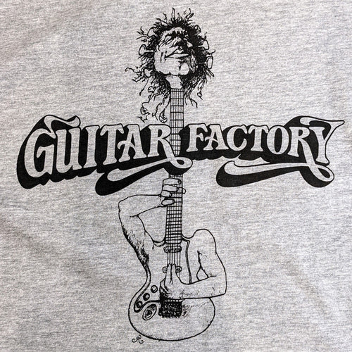Guitar Factory Shirt Grey Medium