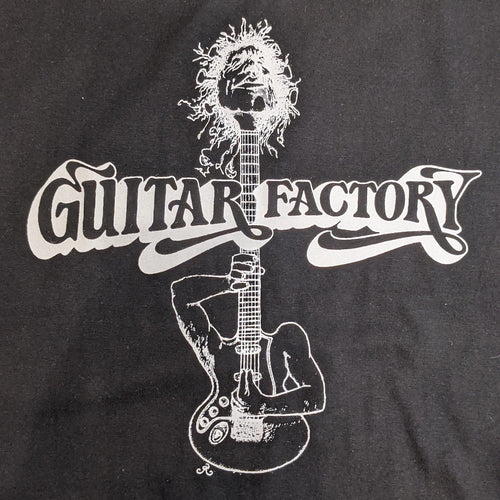 Guitar Factory Shirt Black - Large