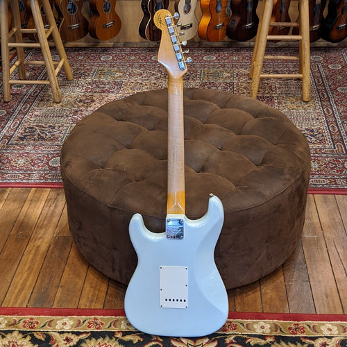 Fender Custom Shop LTD 1959 Stratocaster RW Journeyman-Super Faded Aged Sonic Blue