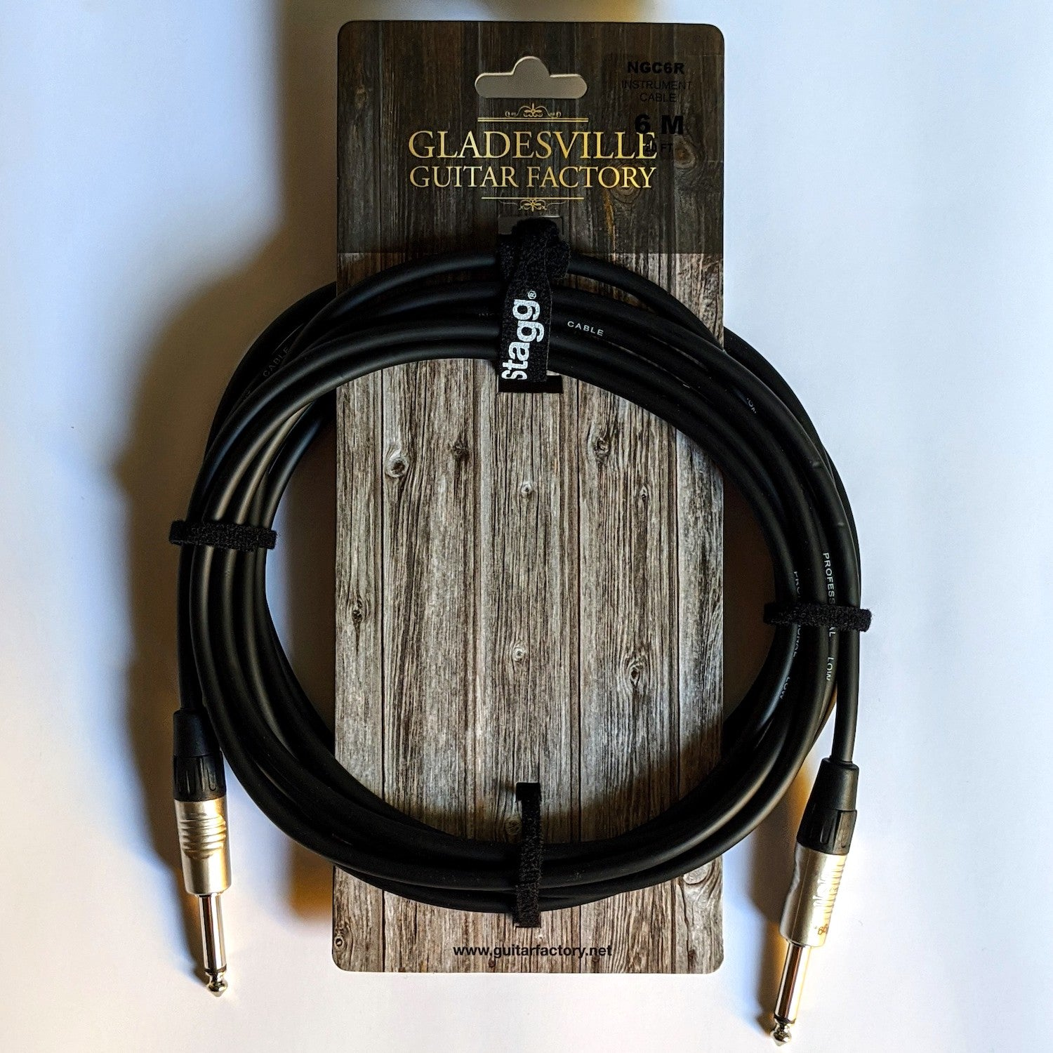 Guitarfactory Gladesville 6M/20FT INSTRUMENT CABLE