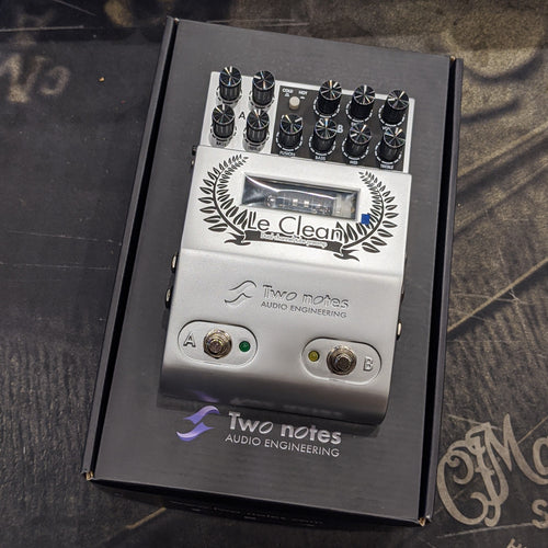 Two Notes Le Clean Dual Channel Tube Preamp - Used