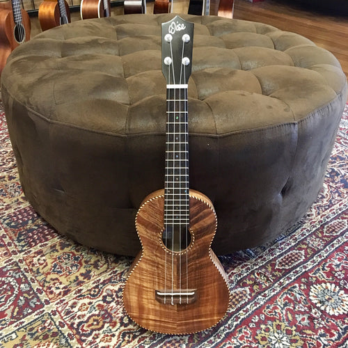 Scott Wise Hand-Made Concert Ukulele Rope Binding
