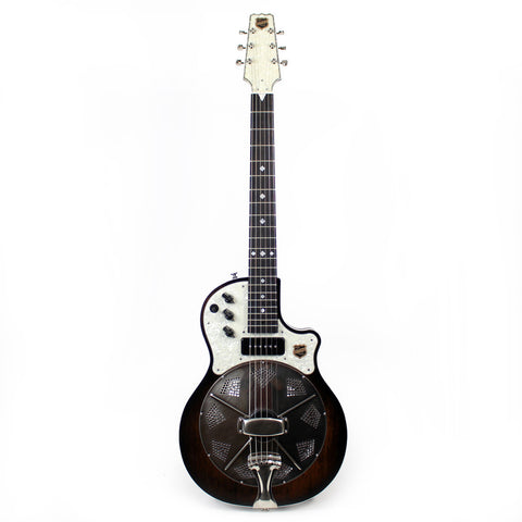 National Res-O-Tone Single Cone Electric - Black