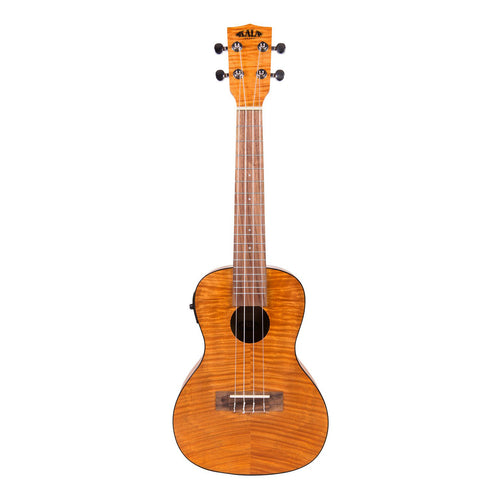 Kala KA-CEME Concert Ukulele Exotic Mahogany Natural with Pickup