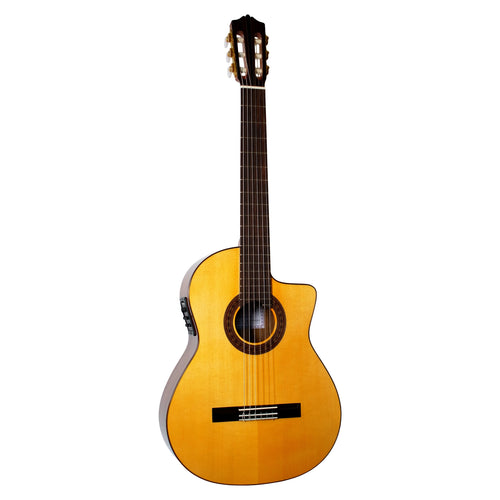 Katoh MCG 115S-CEQ All Solid Acoustic Electric Classical