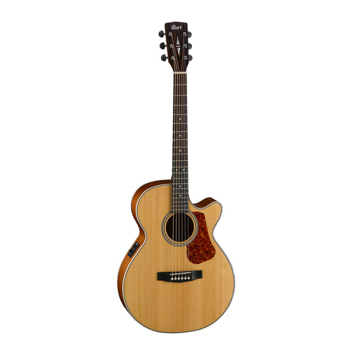 Cort L100F NS Concert Cutaway Guitar Satin Natural