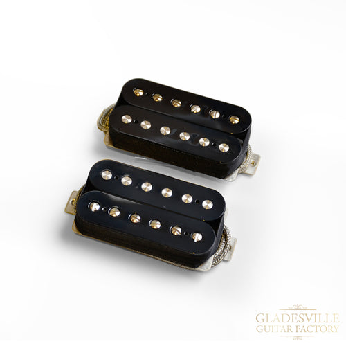 Lollar Imperial Standard Humbucker Black 2-Pickup Set