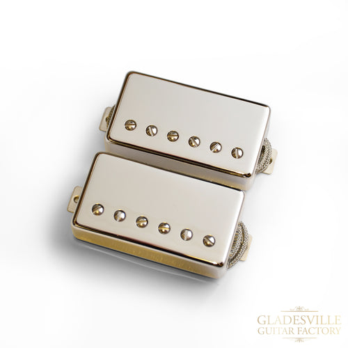 Lollar Imperial Low-Wind Humbucker Nickel 2-Pickup Set