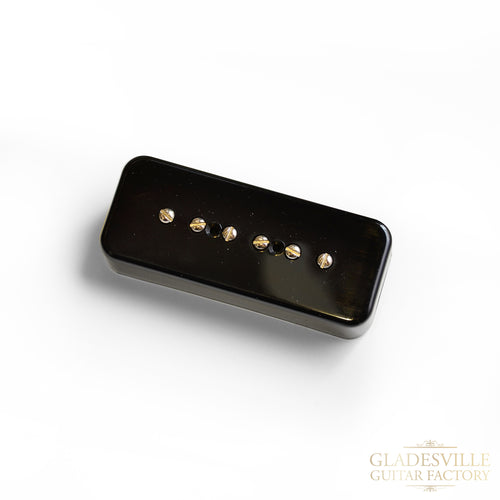 Lollar P-90 Soapbar Pickup Bridge Black