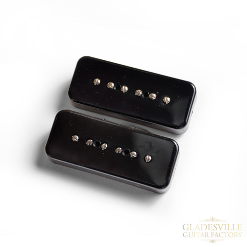 Lollar 50's Wind P-90 Soapbar 2-Pickup Set Black