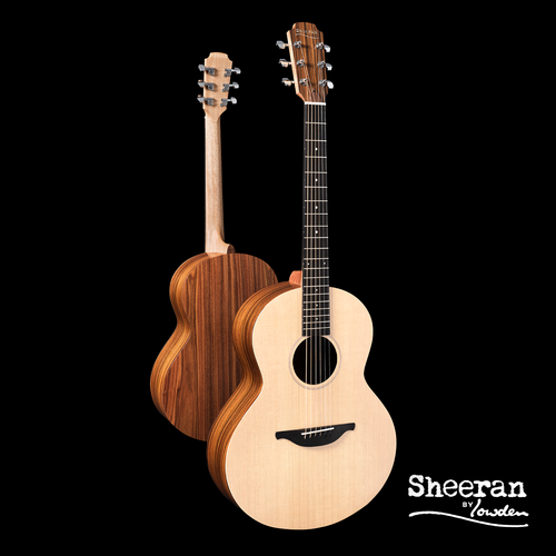 Sheeran by Lowden S02 Solid Sitka Spruce Top, Santos Rosewood Back and Sides, LR Bags Element pickup