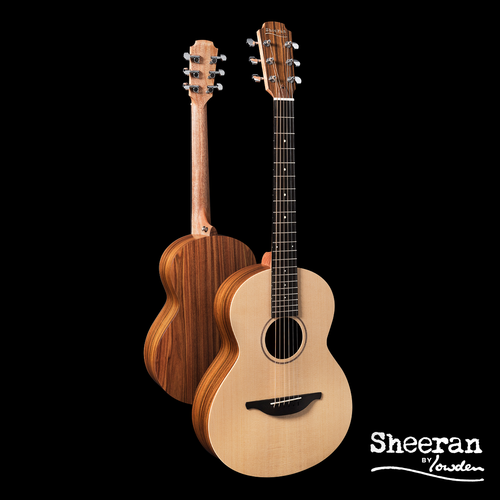Sheeran by Lowden W02 Solid Sitka Spruce Top, Santos Rosewood Back and Sides, LR Bags Element pickup