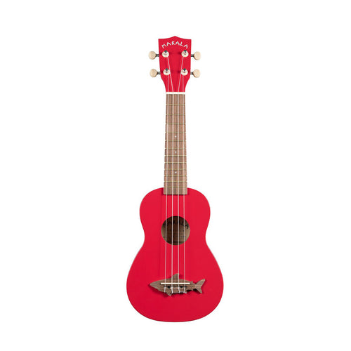 Makala Shark Soprano Ukulele Red