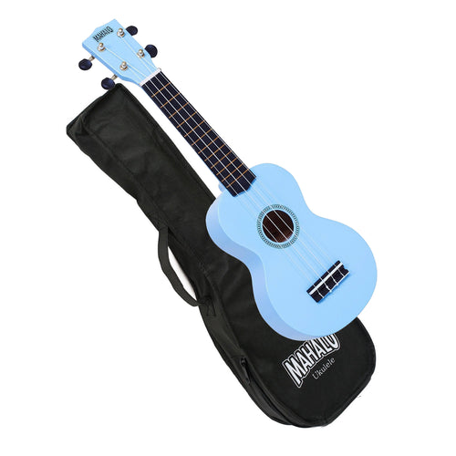 Mahalo MR1LBU Soprano Ukulele Light Blue