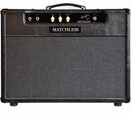 Matchless Spitfire 15W Reverb Combo 112 BLK/Dark Gry/Silver