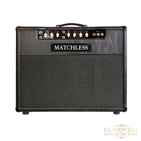 Matchless Lightning 15W Combo 112 Black/Silver - Used