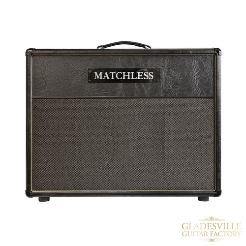 Matchless ESD 212 Extension Cabinet Black/Silver