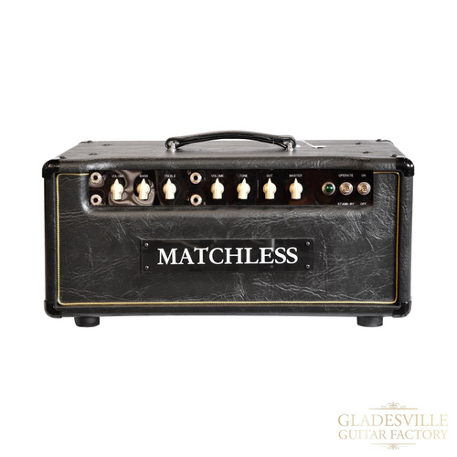 Matchless HC30 30W Head Black /Silver