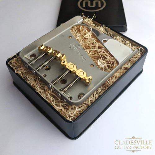 Mastery Bridge M3.2 Tele Brass Top Loading