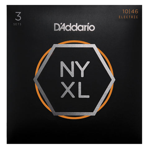 D'Addario NYXL1152 Nickel Wound Electric Guitar Strings, Medium Top / Heavy Bottom, 11-52