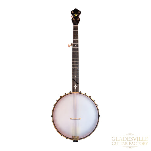 "Ome Wizard 12"" Open Back Banjo with armrest"