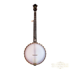 "Ome Wizard 12"" Open Back Walnut Banjo S#6370"