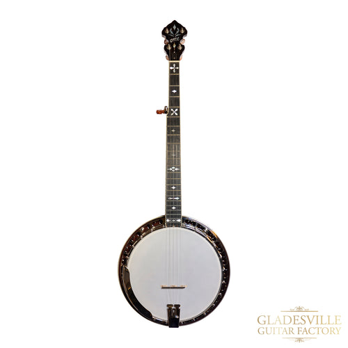 Ome 5-String Southern Cross Resonator Banjo S#6467
