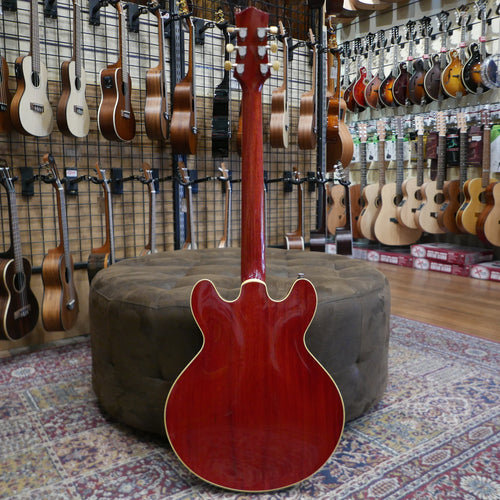 Collings I35 Deluxe Faded Cherry Aged Finish and Hardware Upgrade ThroBak Humbuckers