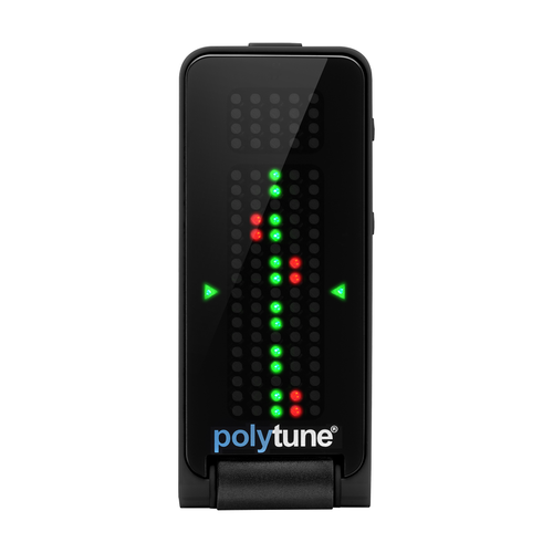 TC Electronic PolyTune Clip Black - Polyphonic Clip-on Tuner