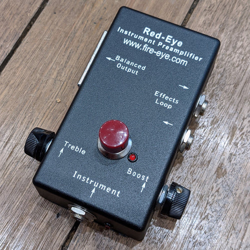 Red-Eye™  | Active & Passive Preamp DI Box w/ Clean Boost Switch & Effects Loop - Used