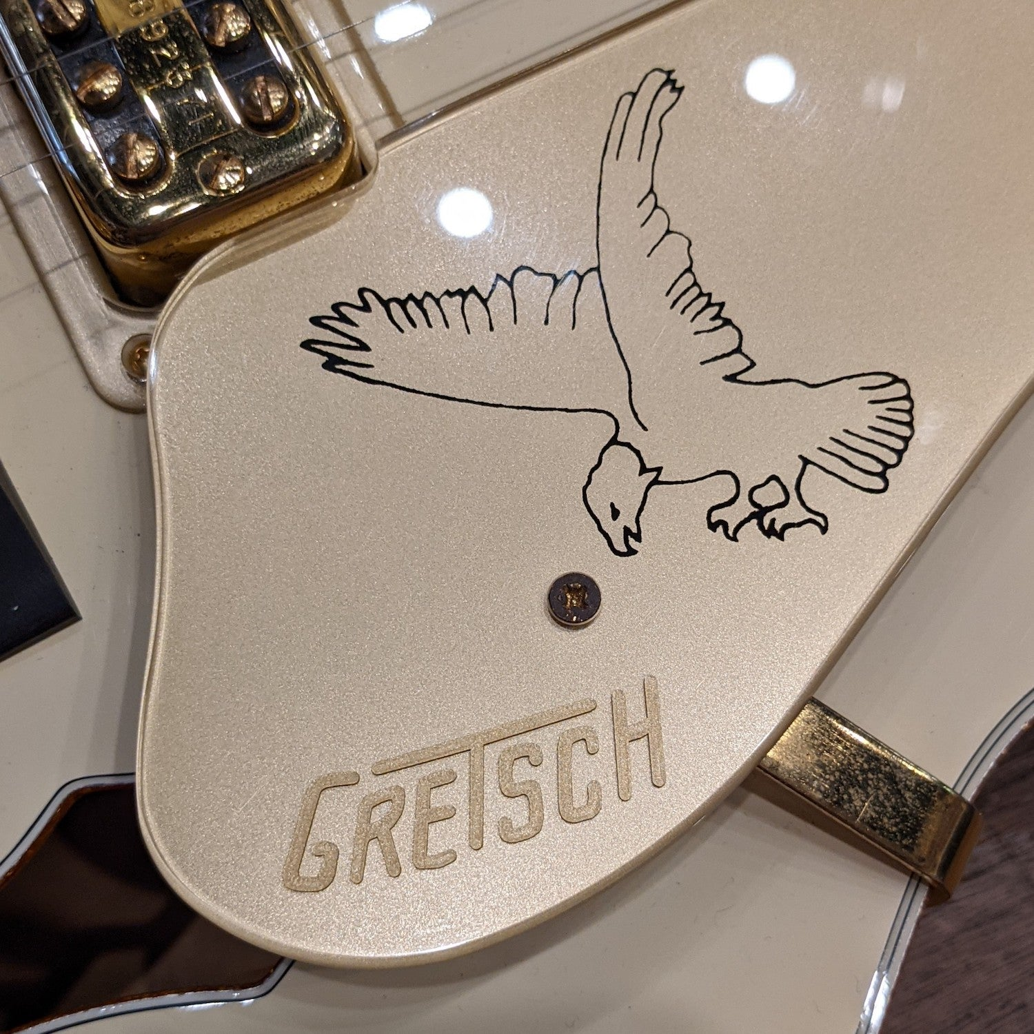Gretsch G6136T-LTV ''2010'' White Falcon Lacquered w/Case - Used