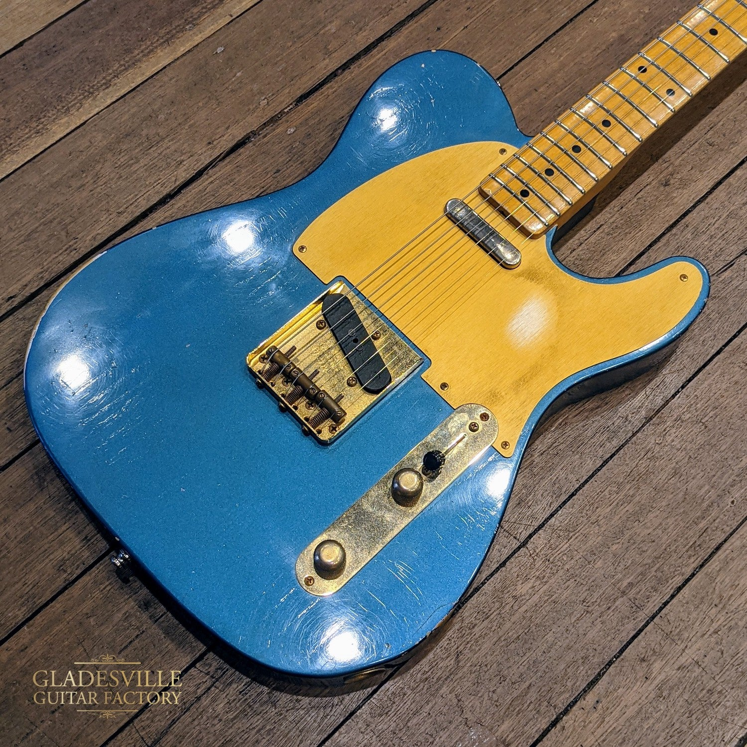 "Fender Custom Shop '52 Telecaster Relic Lake Placid Blue ""2013"" w/Case - Used"