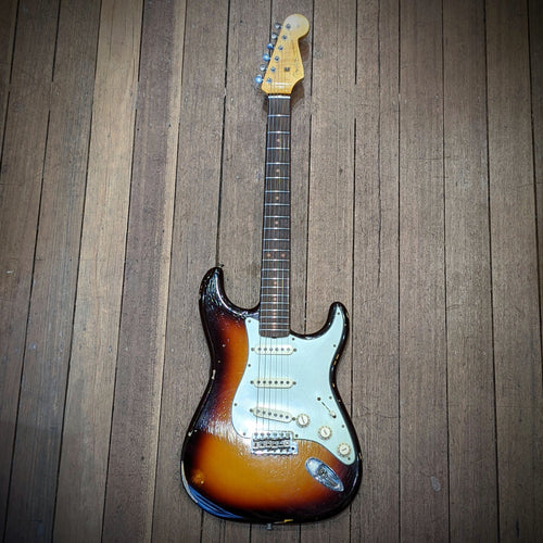 Fender Custom Shop 1960 Relic® Stratocaster®, RW, Chocolate 3-Color Sunburst - Used