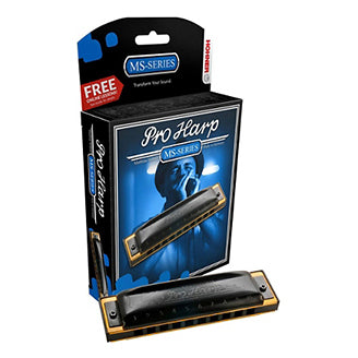 Hohner Pro Harp Harmonica Pack - Key of G